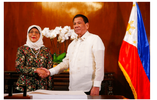 Duterte: Philippines and Singapore to boost defense, security ties